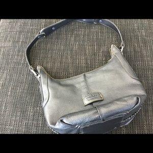 The sak silver small hobo purse